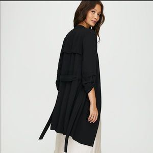 Babaton duster-style trenchcoat
